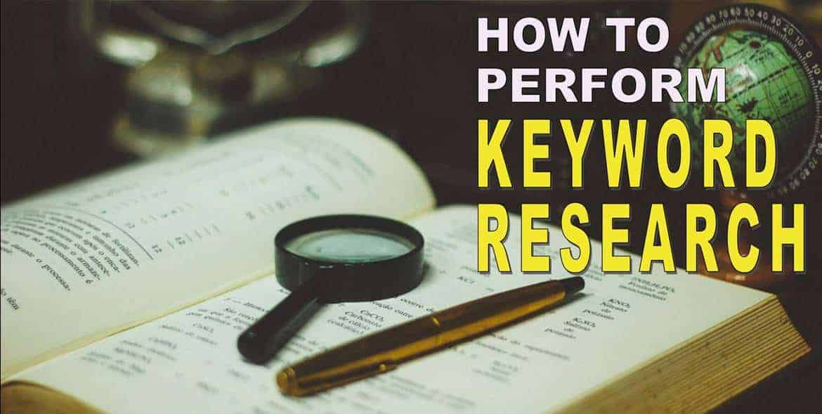 Perform Keyword Research