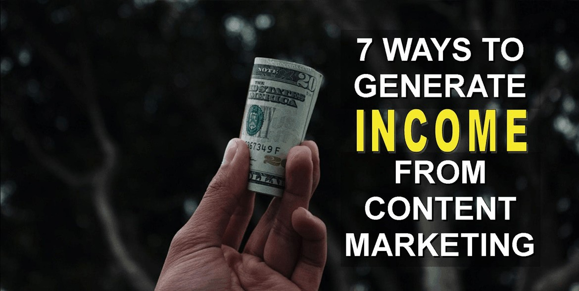 ways to generate income